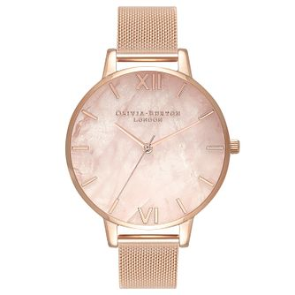 Olivia Burton Blossom Rose Gold Metal Plated Bracelet Watch - Product number 3944662