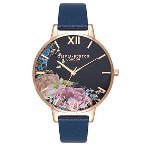 Olivia Burton Enchanted Rose Gold Metal Plated Watch - Product number 3944689