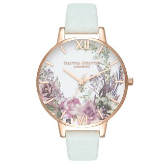 Olivia Burton Enchanted Rose Gold Metal Plated Watch - Product number 3945138