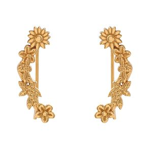 Olivia Burton Bee Blooms Yellow Gold Metal Plated Earrings - Product number 3945448