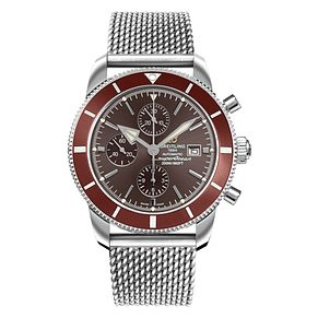 Breitling Superocean Heritage Brown Dial Bracelet Watch - Product number 3947491