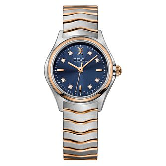 Ebel Wave Ladies' Two Colour Blue Dial Watch - Product number 3955087