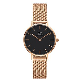 Daniel Wellington Classic Petite Ladies' Mesh Strap Watch - Product number 3955974