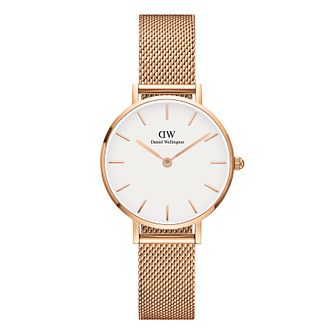 Daniel Wellington Classic Petite Ladies' Mesh Strap Watch - Product number 3955982