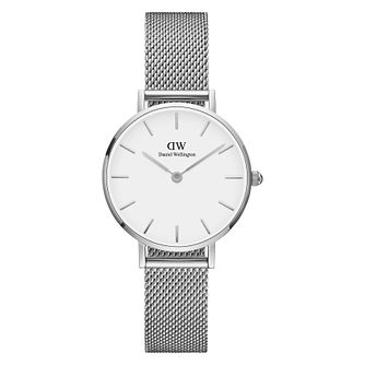 Daniel Wellington Classic Petite Ladies' Mesh Strap Watch - Product number 3955990