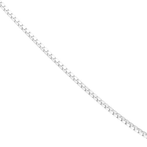 Sterling Silver Box Chain Necklace - Product number 3960307