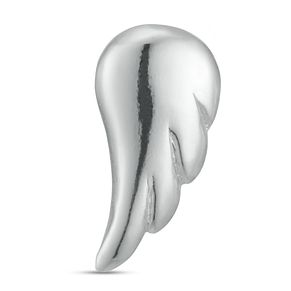 Sterling Silver Angel Wing Single Stud Earring - Product number 3961486