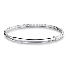Chamilia Bright Finish Sterling Silver Bar Bracelet Medium - Product number 4002482