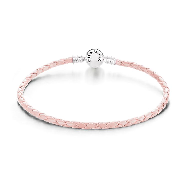 Chamilia Blush Leather Bracelet Medium - Product number 4006097