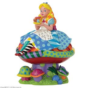Disney Britto Alice In Wonderland Figurine - Product number 4006860