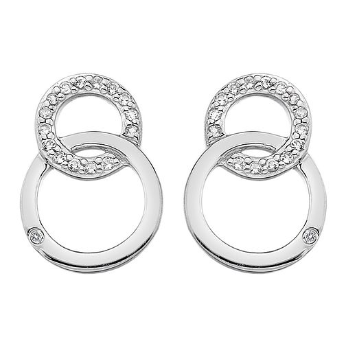 Hot Diamonds Bliss Ladies' Silver Diamond Earrings - Product number 4017064
