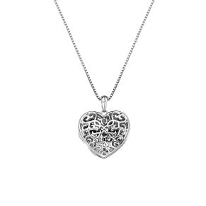 Hot Diamonds Shelter Ladies Silver Heart Diamond Locket - Product number 4017129
