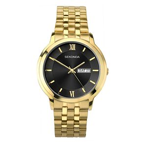 Sekonda Men's Gold Plated Bracelet Watch - Product number 4017625