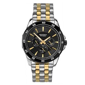 Sekonda Men's Two-Tone Stainless Steel Bracelet Watch - Product number 4017684