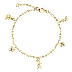 Beatrix Potter Peter Rabbit Children's Gold Charm Bracelet - Product number 4020030