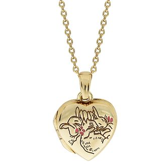 Beatrix Potter Peter Rabbit Children's Gold Heart Locket - Product number 4020057