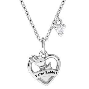 Beatrix Potter Peter Rabbit Children's Heart Shaped Pendant - Product number 4020138