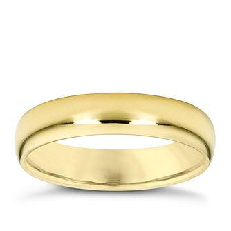 18ct gold super heavy 3mm court ring - Product number 4024370