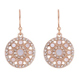 Buckley London Purley Rose Gold Plated Drop Earrings - Product number 4028864