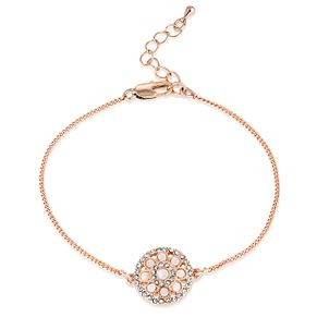 Buckley London Purley Rose Gold Plated Crystal-Set Bracelet - Product number 4028880
