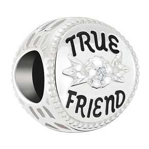 Chamilia Sterling Silver True Friend Disc Bead - Product number 4039874