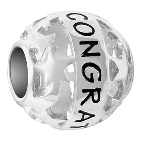 Chamilia Sterling Silver Starry Congratulations Bead - Product number 4039890