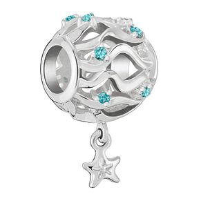 Chamilia Sterling Silver Waves & Starfish Bead - Product number 4042484