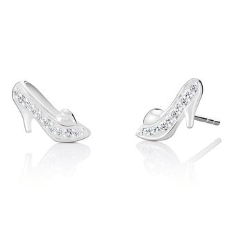 Chamilia Disney Cinderella Glass Slipper Stud Earrings - Product number 4042891