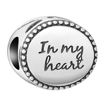 Chamilia Sterling Silver In My Heart Bead - Product number 4043049