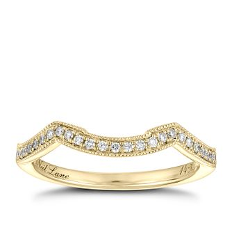 Neil Lane 14ct gold 0.12ct diamond shaped band - Product number 4043723
