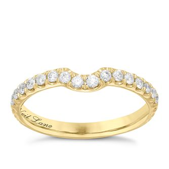 Neil Lane 14ct  gold 0.42ct diamond set shaped ring - Product number 4046021
