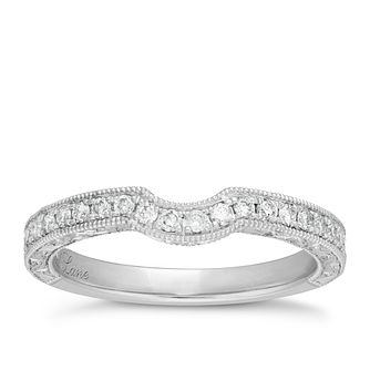 Neil Lane platinum 0.33ct diamond shaped ring - Product number 4051068