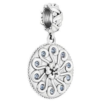 Chamilia Sterling Silver Antique Swirl Mom Charm - Product number 4052994