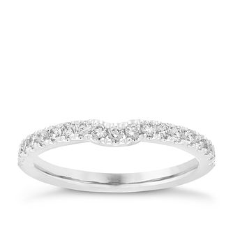 Neil Lane platinum 35pt diamond shaped band - Product number 4053435