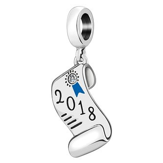 Chamilia Sterling Silver 2018 Graduation Charm - Product number 4053559