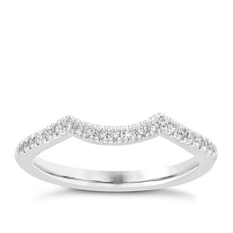 Neil Lane platinum 16pt diamond shaped band - Product number 4055012