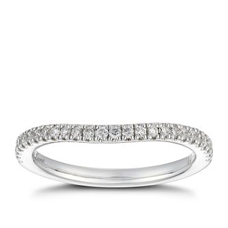 Neil Lane platinum 20pt diamond shaped band - Product number 4055152