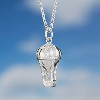 Lily Charmed Sterling Silver Air Balloon Pendant - Product number 4059468