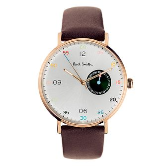 Paul Smith Gauge Men's Rose Gold Plated Strap Watch - Product number 4060008