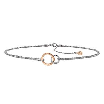 Tommy Hilfiger Double Circle Linked Necklace - Product number 4062264
