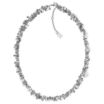 Tommy Hilfiger Silver Tone Glitz Design Necklace - Product number 4062272