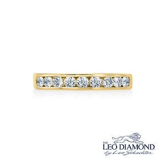 Leo Diamond 18ct gold 1/2ct I-P1 diamond eternity band - Product number 4072529
