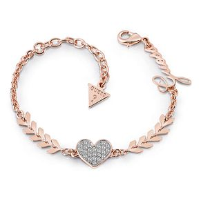 Guess Rose Gold Plated Rhodium Multi Arrow & Heart Bracelet - Product number 4075242