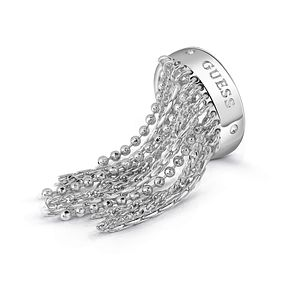 Guess Silver Plated Rhodium Waterfall Ring - Product number 4076664