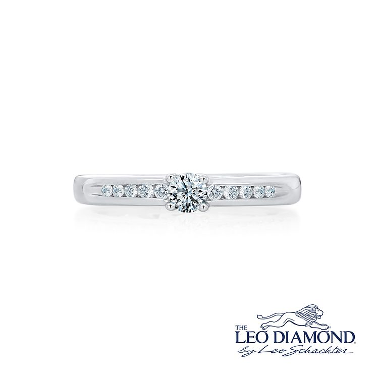 Leo Diamond 0.25ct I I1 Solitaire Ring - Product number 4076931