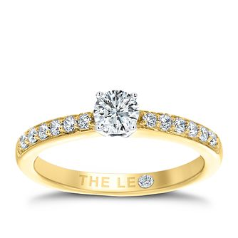 Leo Diamond 18ct gold 1/2ct I-I1 diamond solitaire ring - Product number 4077210