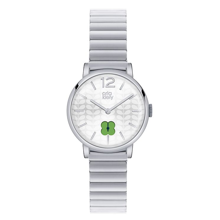 Orla Kiely Ladies' Stainless Steel Bracelet Watch - Product number 4078748