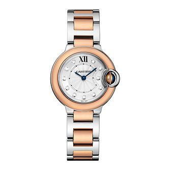 Cartier Ballon Ladies' Two Colour Bracelet Watch - Product number 4088611