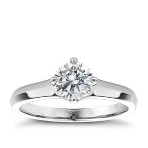 The Diamond Story 18ct White Gold 1.50ct diamond solitaire - Product number 4090411