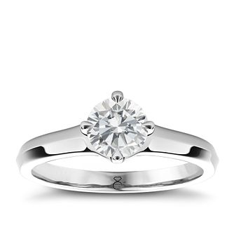 The Diamond Story 18ct White Gold 2ct diamond solitaire ring - Product number 4090586